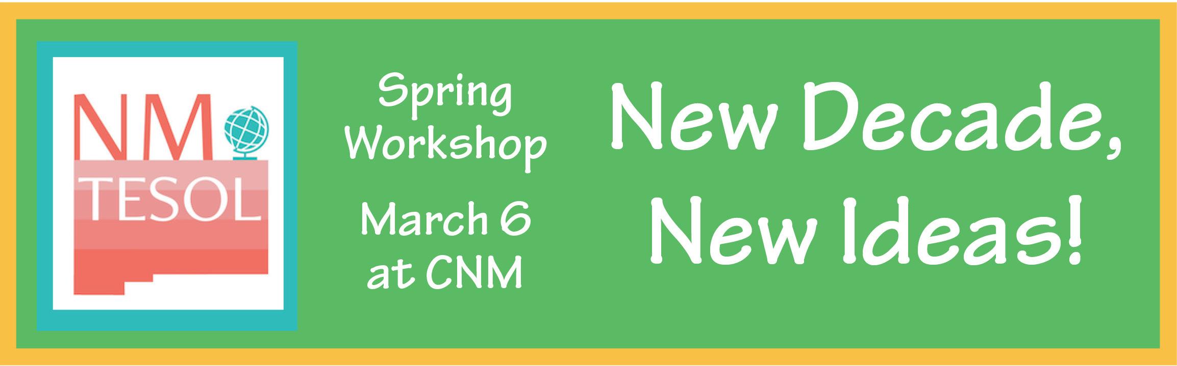 Spring Workshop 2020